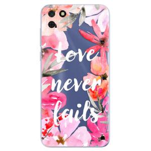 Odolné silikónové puzdro iSaprio - Love Never Fails - Huawei Y5p