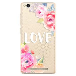 Plastové puzdro iSaprio - Love - Xiaomi Redmi 3