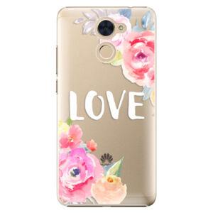 Plastové puzdro iSaprio - Love - Huawei Y7 / Y7 Prime