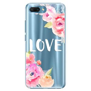 Plastové puzdro iSaprio - Love - Huawei Honor 10