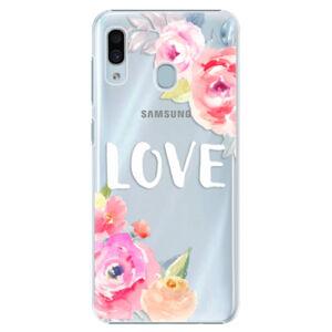 Plastové puzdro iSaprio - Love - Samsung Galaxy A30