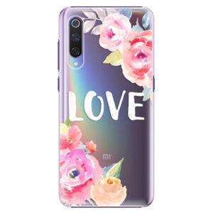 Plastové puzdro iSaprio - Love - Xiaomi Mi 9