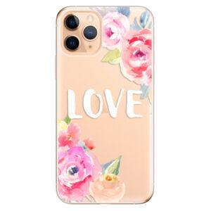 Odolné silikónové puzdro iSaprio - Love - iPhone 11 Pro