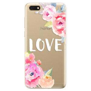 Odolné silikónové puzdro iSaprio - Love - Huawei Honor 7S