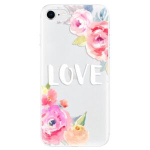 Odolné silikónové puzdro iSaprio - Love - iPhone SE 2020