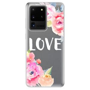 Odolné silikónové puzdro iSaprio - Love - Samsung Galaxy S20 Ultra