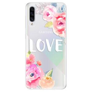 Odolné silikónové puzdro iSaprio - Love - Samsung Galaxy A30s