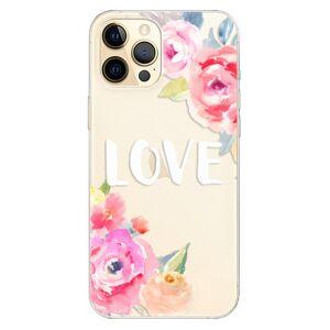 Odolné silikónové puzdro iSaprio - Love - iPhone 12 Pro Max