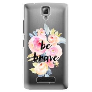 Plastové puzdro iSaprio - Be Brave - Lenovo A2010