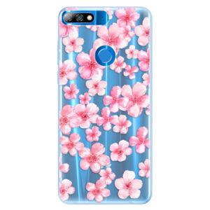 Silikónové puzdro iSaprio - Flower Pattern 05 - Huawei Y7 Prime 2018