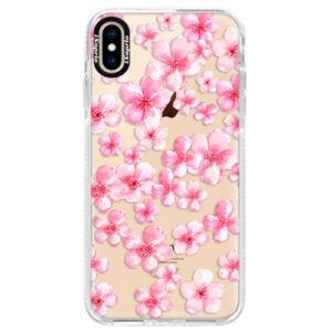 Silikónové púzdro Bumper iSaprio - Flower Pattern 05 - iPhone XS Max