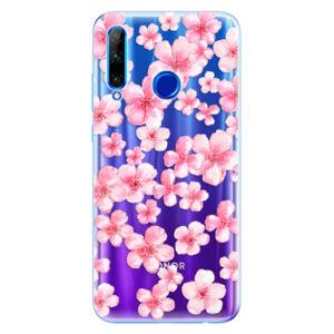 Odolné silikónové puzdro iSaprio - Flower Pattern 05 - Huawei Honor 20 Lite