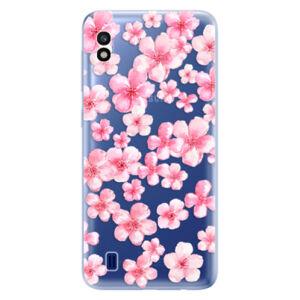 Odolné silikónové puzdro iSaprio - Flower Pattern 05 - Samsung Galaxy A10