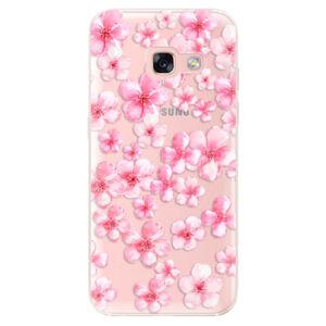 Odolné silikónové puzdro iSaprio - Flower Pattern 05 - Samsung Galaxy A3 2017