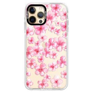 Silikónové puzdro Bumper iSaprio - Flower Pattern 05 - iPhone 12 Pro Max