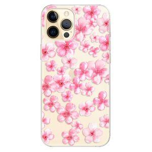 Odolné silikónové puzdro iSaprio - Flower Pattern 05 - iPhone 12 Pro