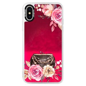 Neónové púzdro Pink iSaprio - Handbag 01 - iPhone XS