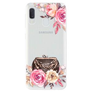 Odolné silikónové puzdro iSaprio - Handbag 01 - Samsung Galaxy A20e
