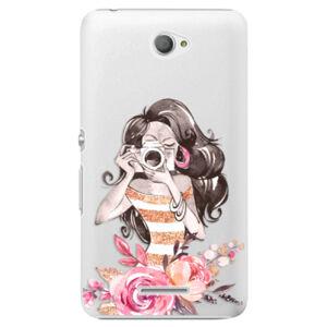 Plastové puzdro iSaprio - Charming - Sony Xperia E4