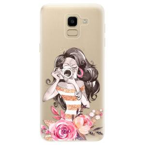 Odolné silikónové puzdro iSaprio - Charming - Samsung Galaxy J6