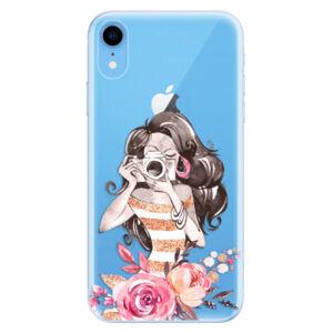 Odolné silikónové puzdro iSaprio - Charming - iPhone XR