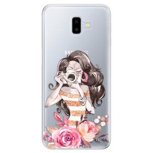 Odolné silikónové puzdro iSaprio - Charming - Samsung Galaxy J6+