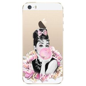 Odolné silikónové puzdro iSaprio - Pink Bubble - iPhone 5/5S/SE