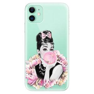 Odolné silikónové puzdro iSaprio - Pink Bubble - iPhone 11