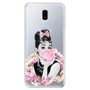 Odolné silikónové puzdro iSaprio - Pink Bubble - Samsung Galaxy J6+