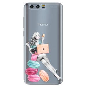Silikónové puzdro iSaprio - Girl Boss - Huawei Honor 9