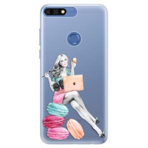 Silikónové puzdro iSaprio - Girl Boss - Huawei Honor 7C