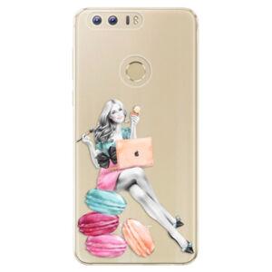 Odolné silikónové puzdro iSaprio - Girl Boss - Huawei Honor 8