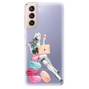 Odolné silikónové puzdro iSaprio - Girl Boss - Samsung Galaxy S21