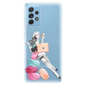 Odolné silikónové puzdro iSaprio - Girl Boss - Samsung Galaxy A72