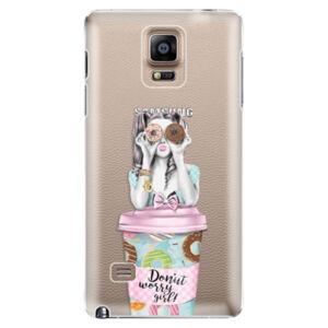Plastové puzdro iSaprio - Donut Worry - Samsung Galaxy Note 4