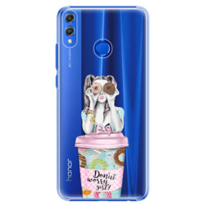 Plastové puzdro iSaprio - Donut Worry - Huawei Honor 8X