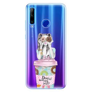 Odolné silikónové puzdro iSaprio - Donut Worry - Huawei Honor 20 Lite
