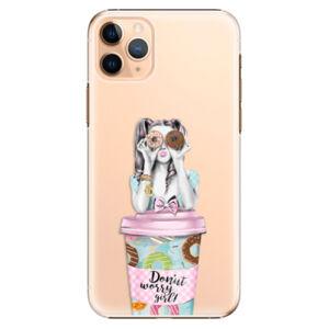 Plastové puzdro iSaprio - Donut Worry - iPhone 11 Pro Max
