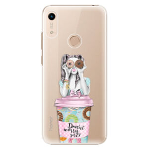 Plastové puzdro iSaprio - Donut Worry - Huawei Honor 8A