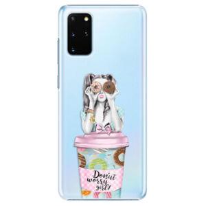 Plastové puzdro iSaprio - Donut Worry - Samsung Galaxy S20+