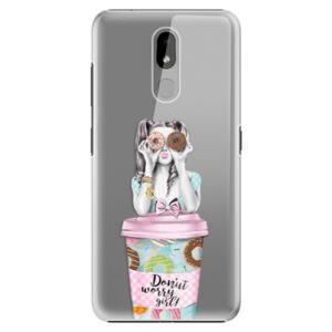 Plastové puzdro iSaprio - Donut Worry - Nokia 3.2