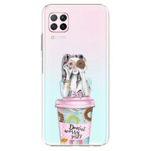 Plastové puzdro iSaprio - Donut Worry - Huawei P40 Lite