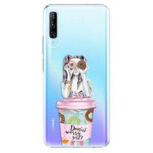 Plastové puzdro iSaprio - Donut Worry - Huawei P Smart Pro