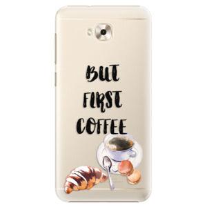 Plastové puzdro iSaprio - First Coffee - Asus ZenFone 4 Selfie ZD553KL