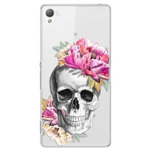Plastové puzdro iSaprio - Pretty Skull - Sony Xperia Z3