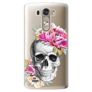 Plastové puzdro iSaprio - Pretty Skull - LG G3 (D855)