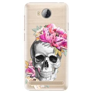 Plastové puzdro iSaprio - Pretty Skull - Huawei Y3 II