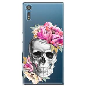 Plastové puzdro iSaprio - Pretty Skull - Sony Xperia XZ