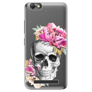 Plastové puzdro iSaprio - Pretty Skull - Lenovo Vibe C