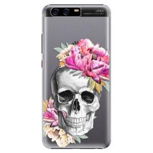 Plastové puzdro iSaprio - Pretty Skull - Huawei P10 Plus